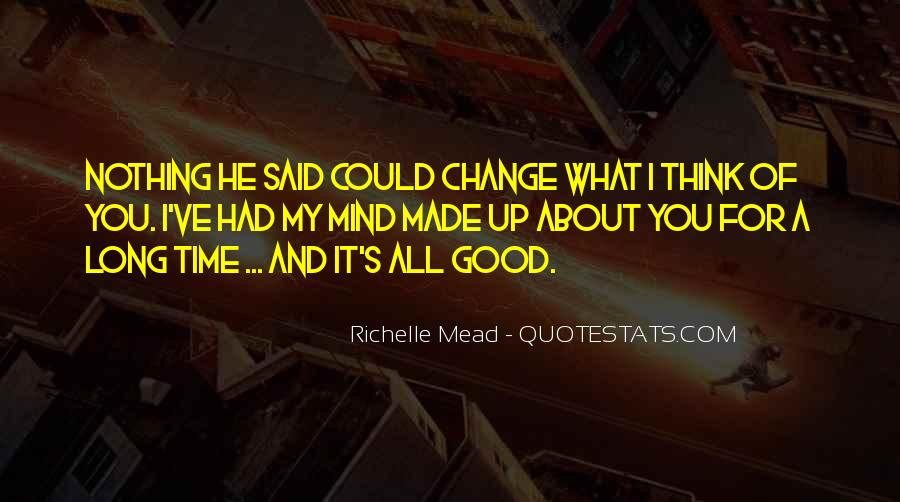 Quotes About A Time For Change #123291