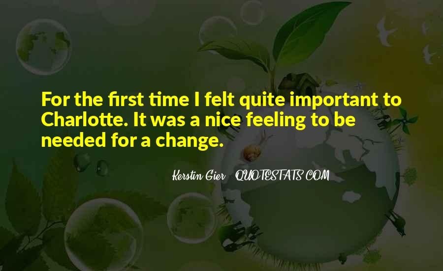Quotes About A Time For Change #124901