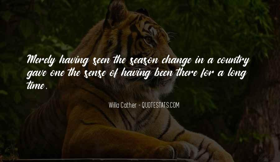 Quotes About A Time For Change #232248