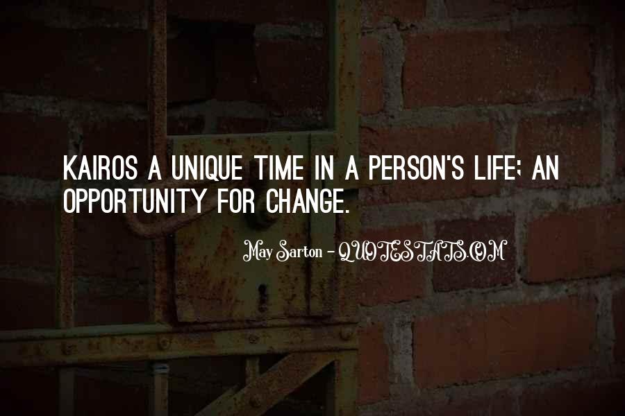 Quotes About A Time For Change #245084