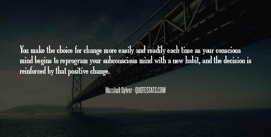 Quotes About A Time For Change #346140