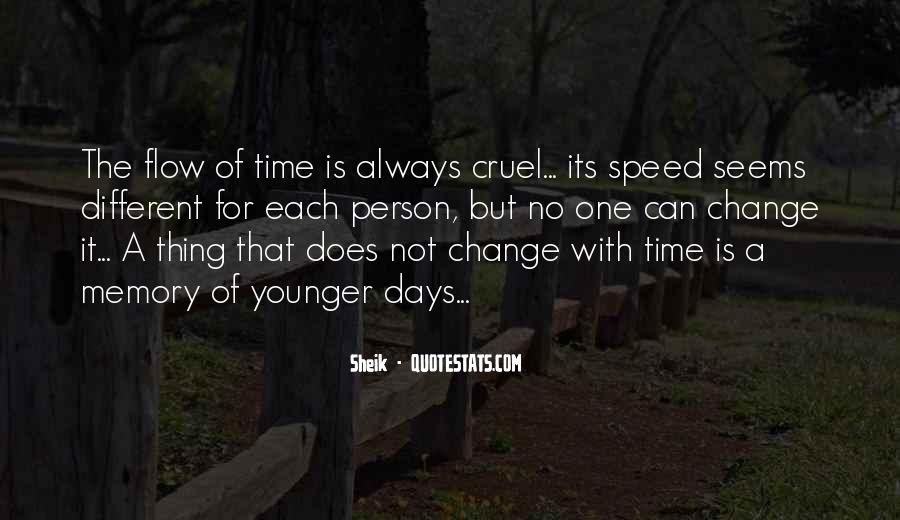 Quotes About A Time For Change #347278