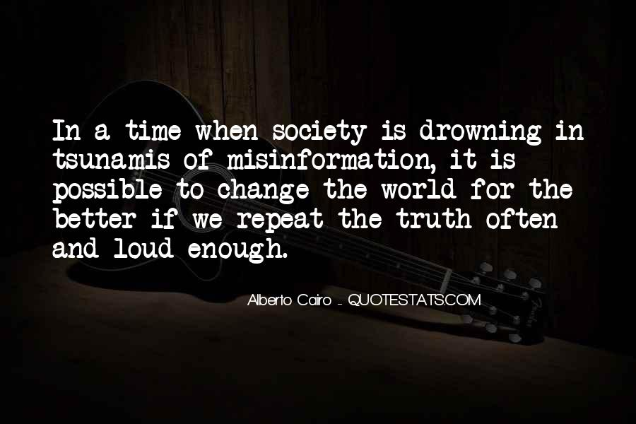 Quotes About A Time For Change #461462