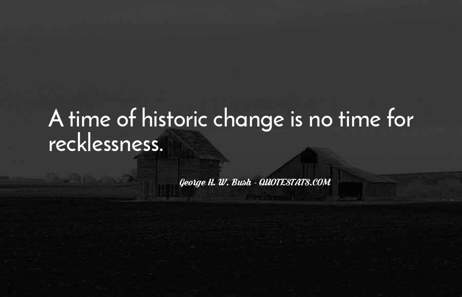 Quotes About A Time For Change #465160