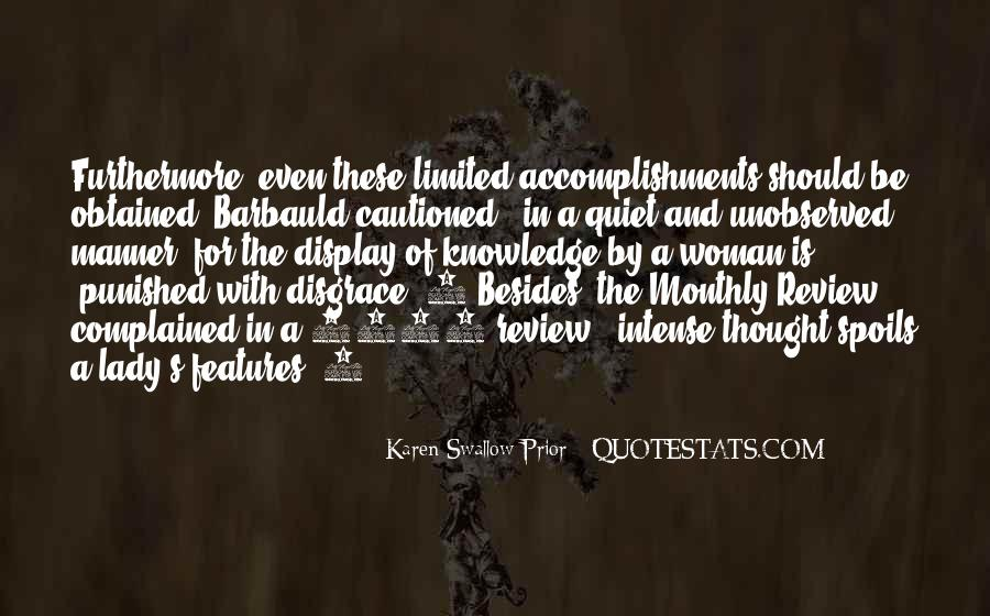 Quotes About Prior Knowledge #1140370