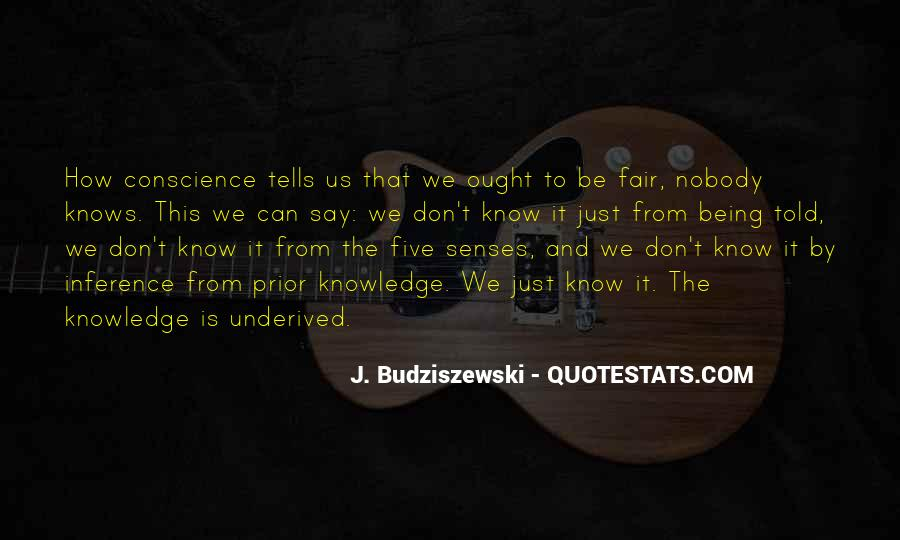 Quotes About Prior Knowledge #1723401