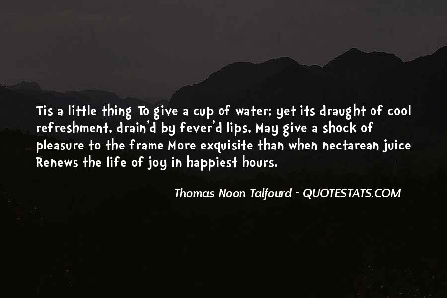 Quotes About The Water Frame #1005365