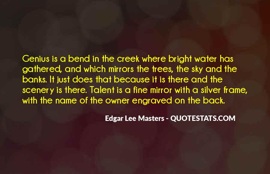 Quotes About The Water Frame #1479932