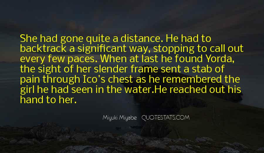 Quotes About The Water Frame #915028