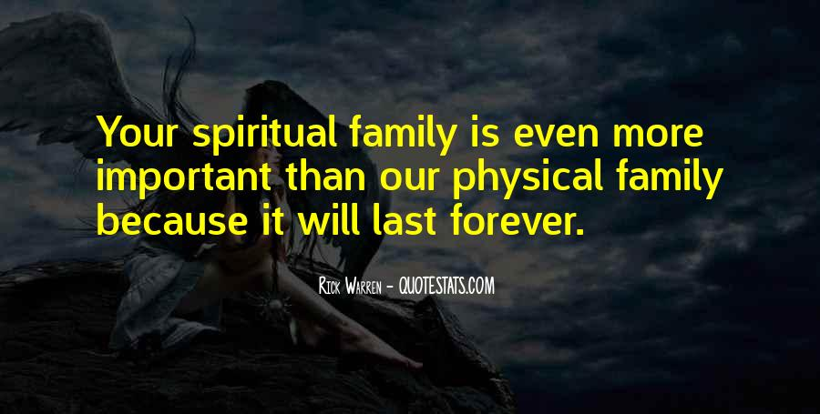 Quotes About Family Forever #1231987