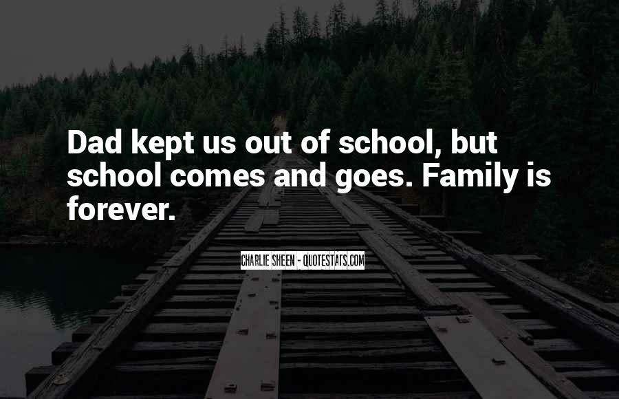 Quotes About Family Forever #1496746