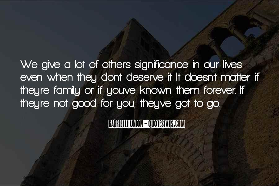 Quotes About Family Forever #1533566