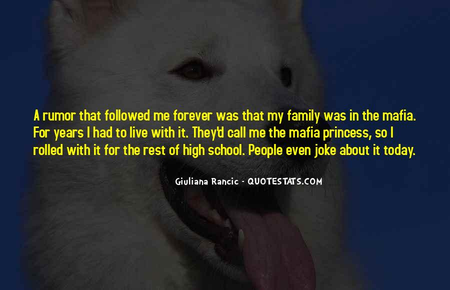 Quotes About Family Forever #1766085