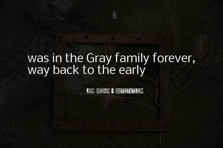 Quotes About Family Forever #539372