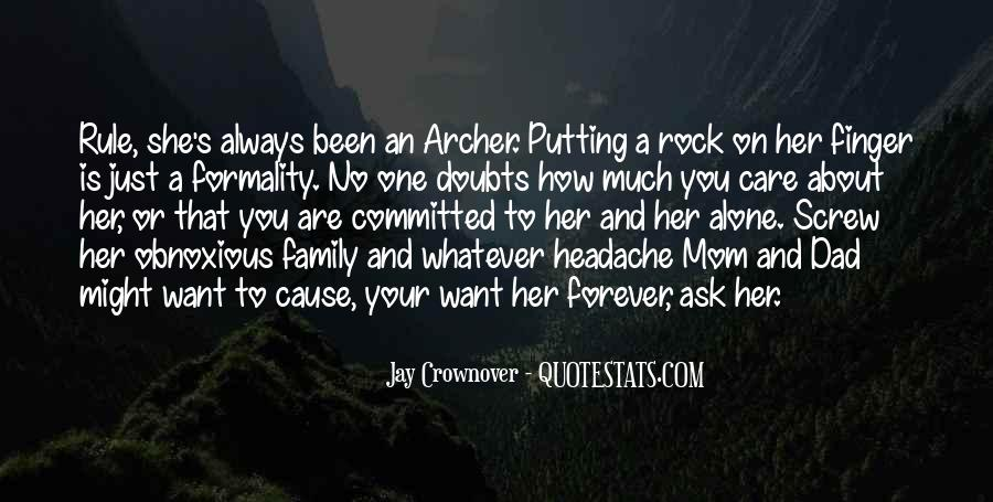 Quotes About Family Forever #855746