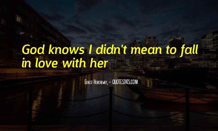 Quotes About Love Falling In Love #67295