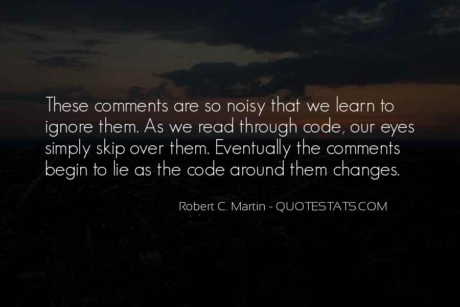 Quotes About Noisy #196927