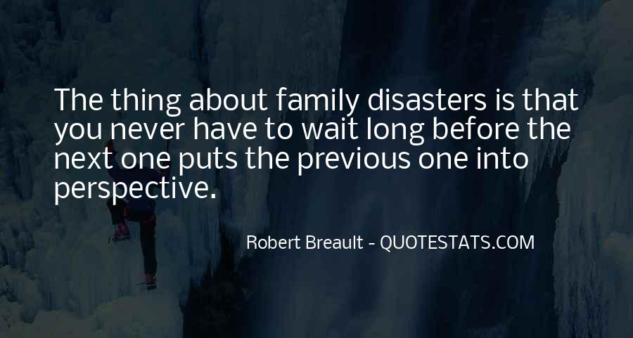 Quotes About Disasters #122811