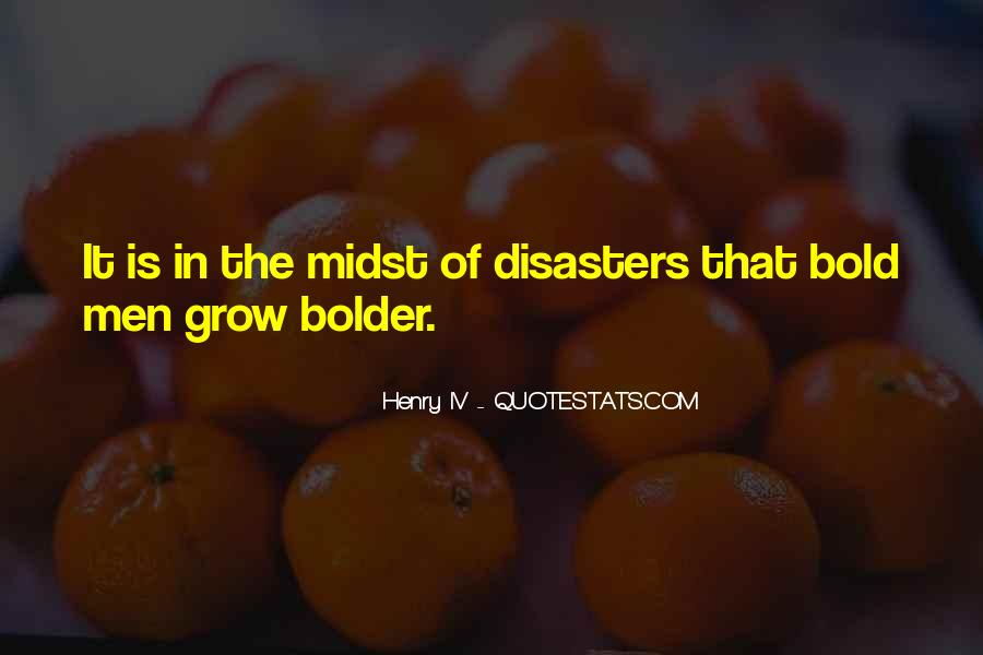Quotes About Disasters #123406