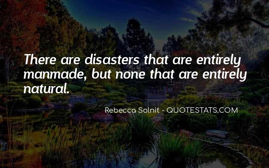 Quotes About Disasters #15821