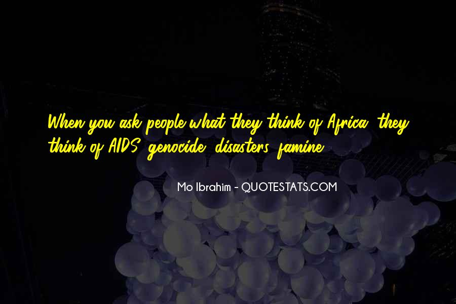 Quotes About Disasters #167926