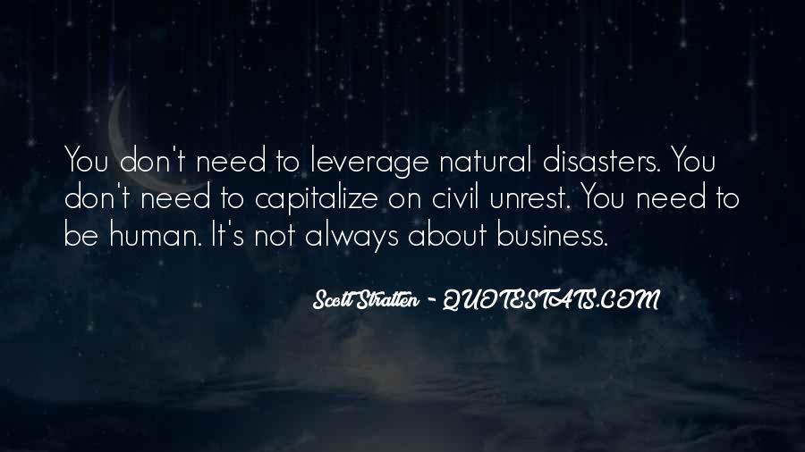 Quotes About Disasters #172123