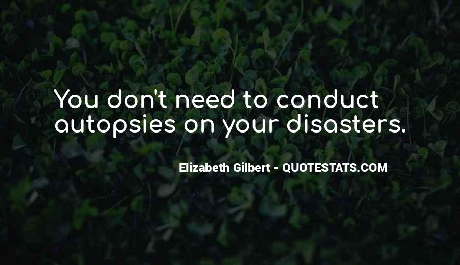 Quotes About Disasters #18963