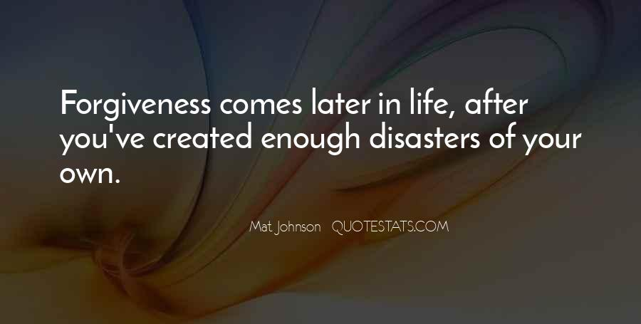 Quotes About Disasters #190795