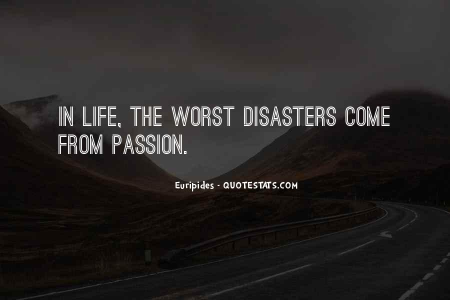 Quotes About Disasters #195215