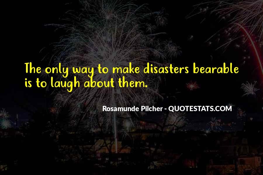 Quotes About Disasters #274826