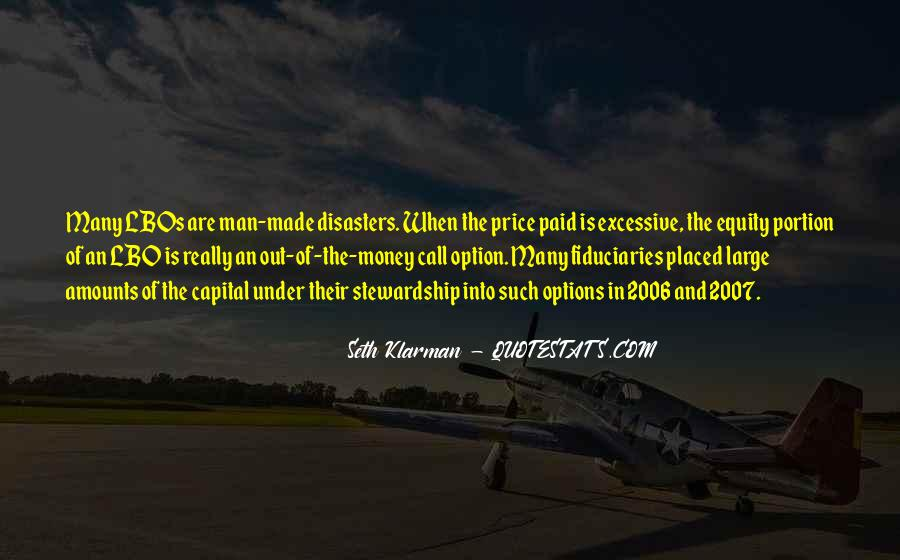 Quotes About Disasters #309146