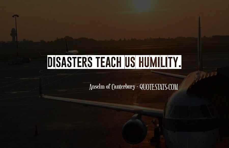 Quotes About Disasters #319793