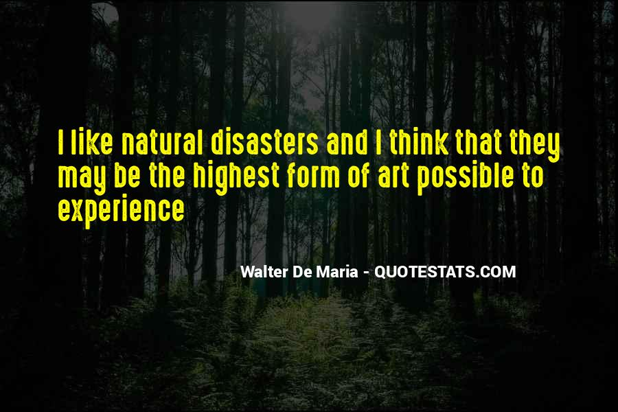 Quotes About Disasters #326348