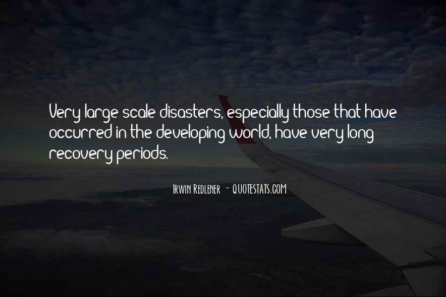 Quotes About Disasters #331941