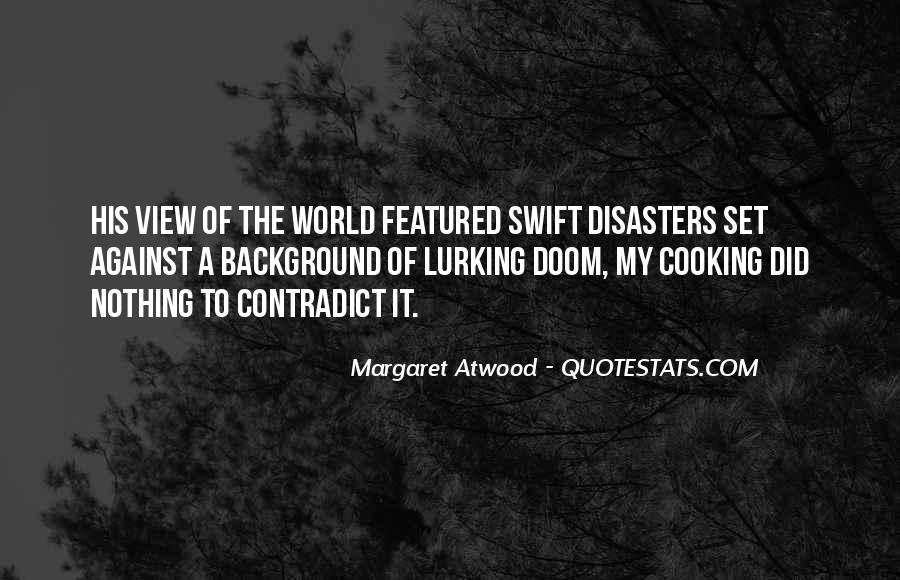 Quotes About Disasters #342049