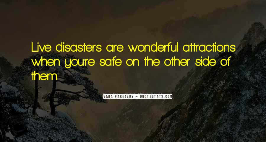 Quotes About Disasters #373842