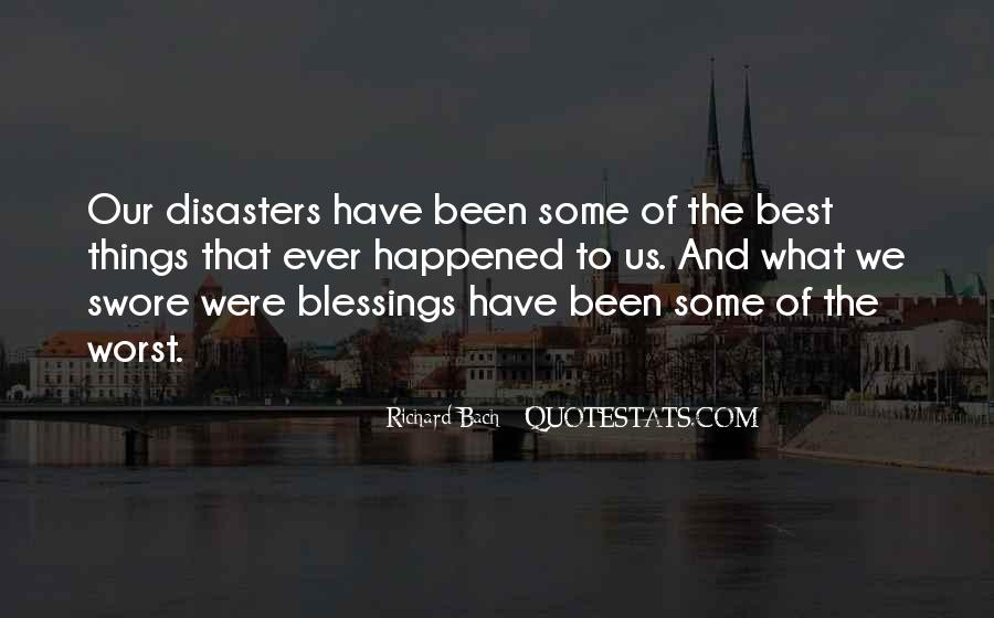 Quotes About Disasters #390709