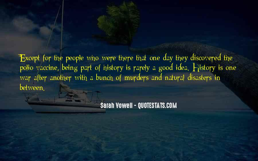 Quotes About Disasters #434982