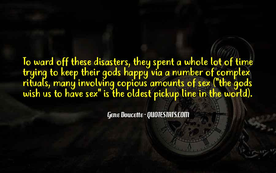 Quotes About Disasters #498298