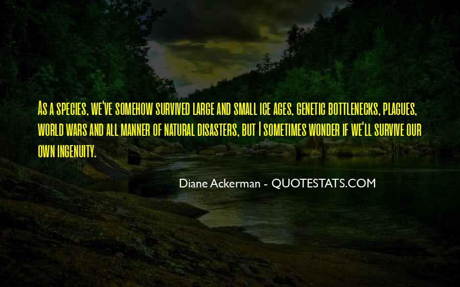 Quotes About Disasters #509044