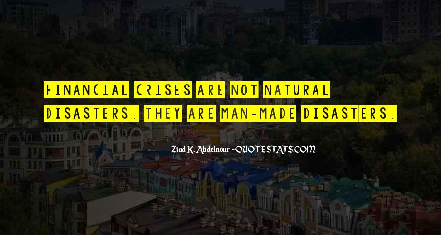 Quotes About Disasters #514818