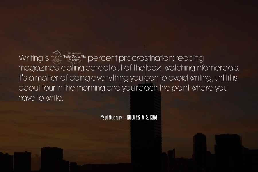 Quotes About Reading And Writing #107557