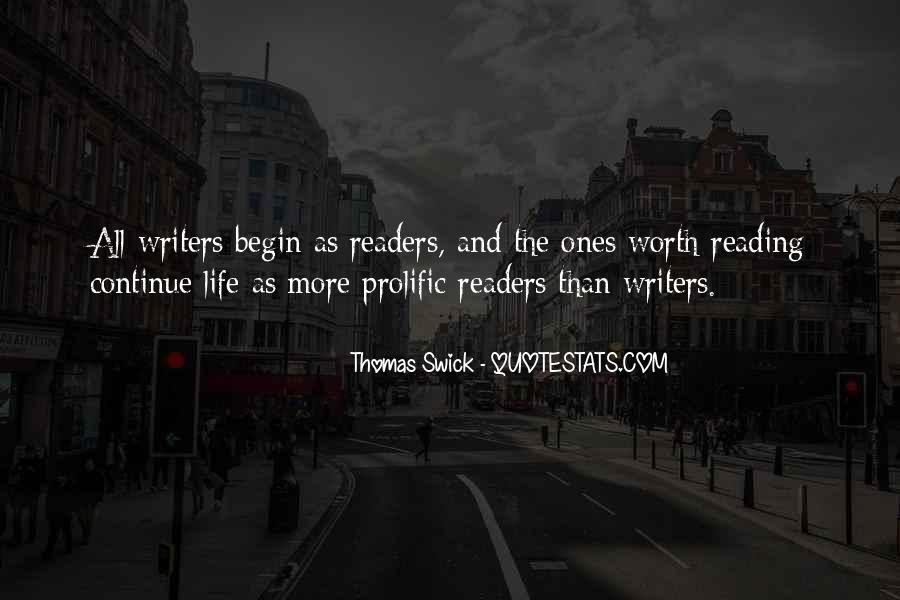 Quotes About Reading And Writing #134383