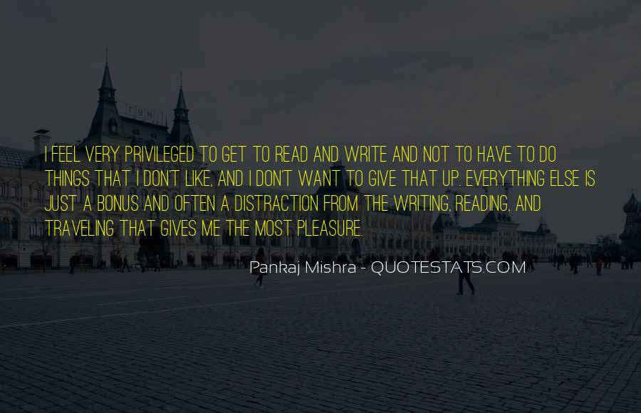 Quotes About Reading And Writing #154988