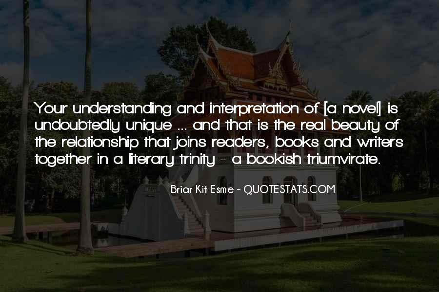 Quotes About Reading And Writing #170181