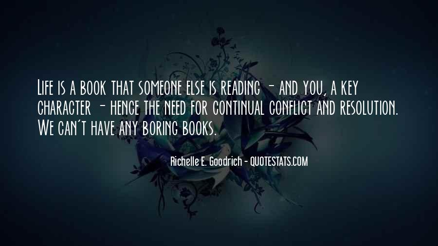 Quotes About Reading And Writing #178983