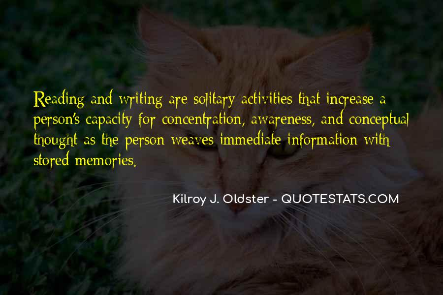 Quotes About Reading And Writing #181312