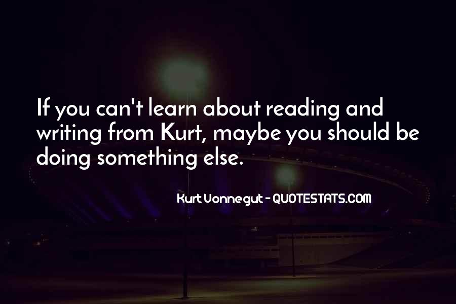 Quotes About Reading And Writing #189225