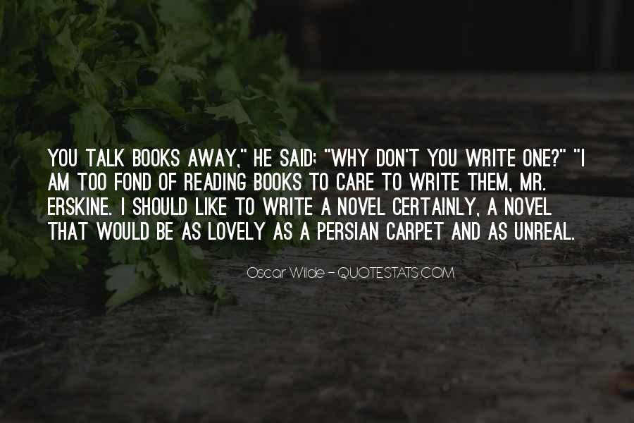 Quotes About Reading And Writing #206503