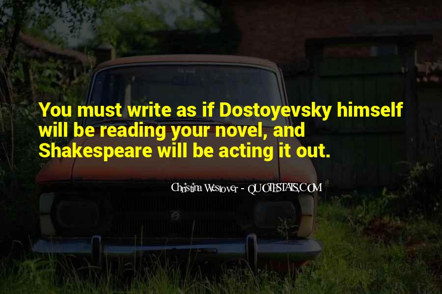Quotes About Reading And Writing #207168